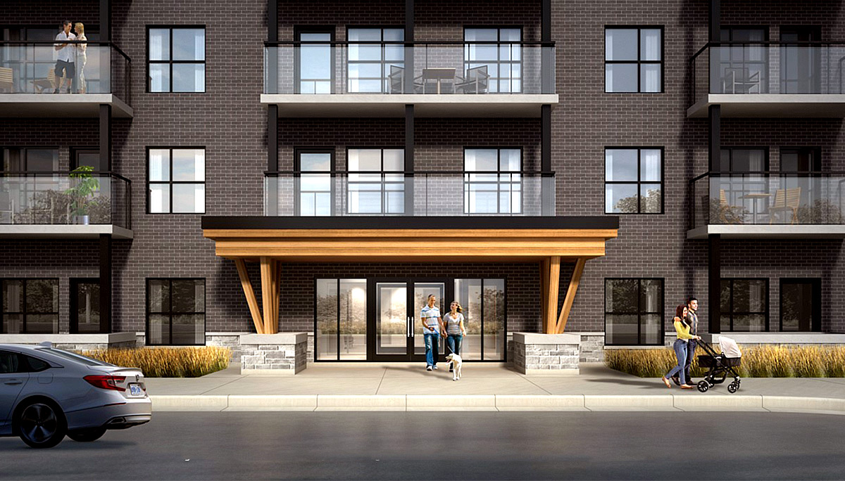 New Condo Project at 1000 Lackner Blvd, Kitchener, ON N2A 1H3
