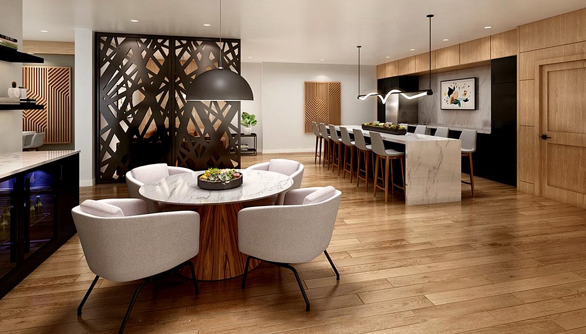 Mid-rise multi-residential complex condominium in Kitchener