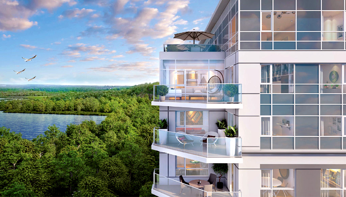 New 12 Sophisticated Storeys-high in Simcoe County Region