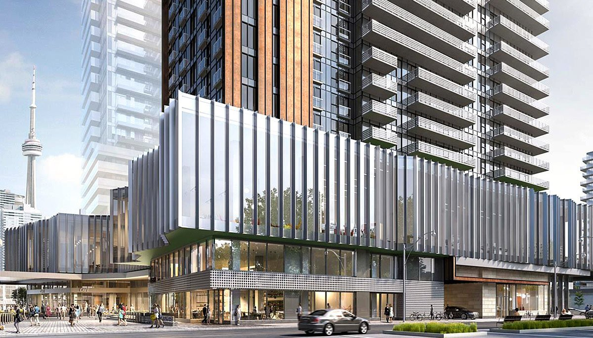 Condo Project at 4 Richardson Street, Toronto, ON, M5A
