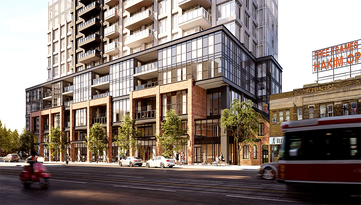 Condo Project at 286 Main St, Toronto, ON, M4C 4X4