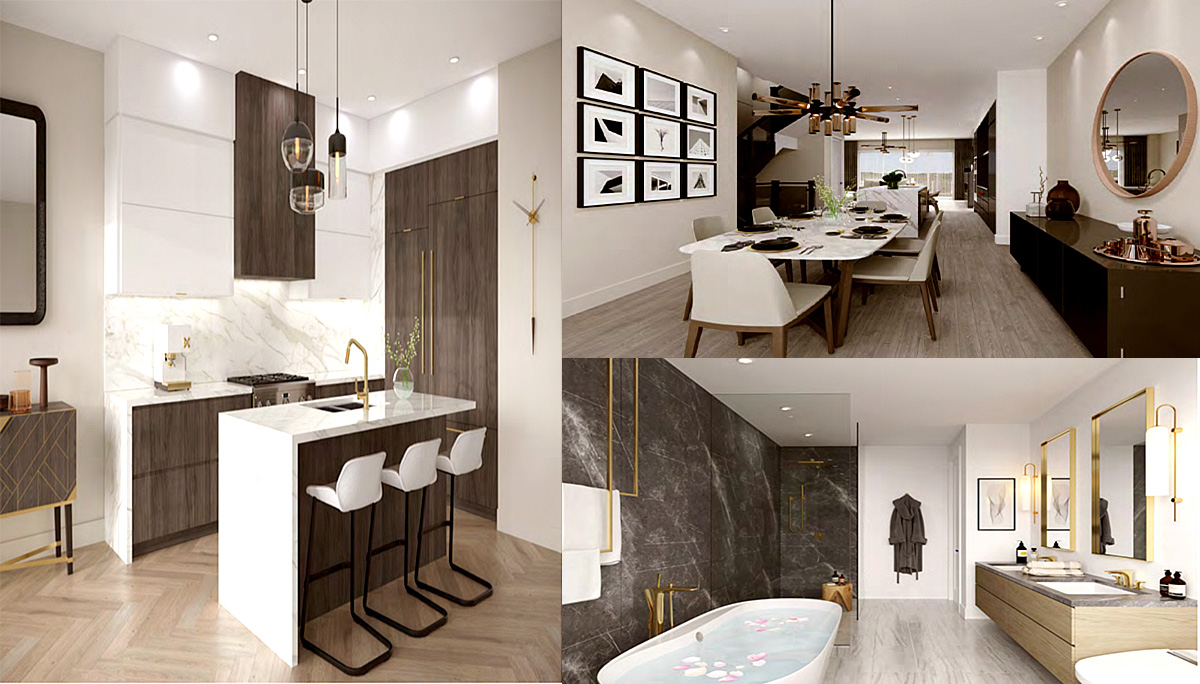 New Luxury Low-Rise Townhomes made by Acorn Developments
