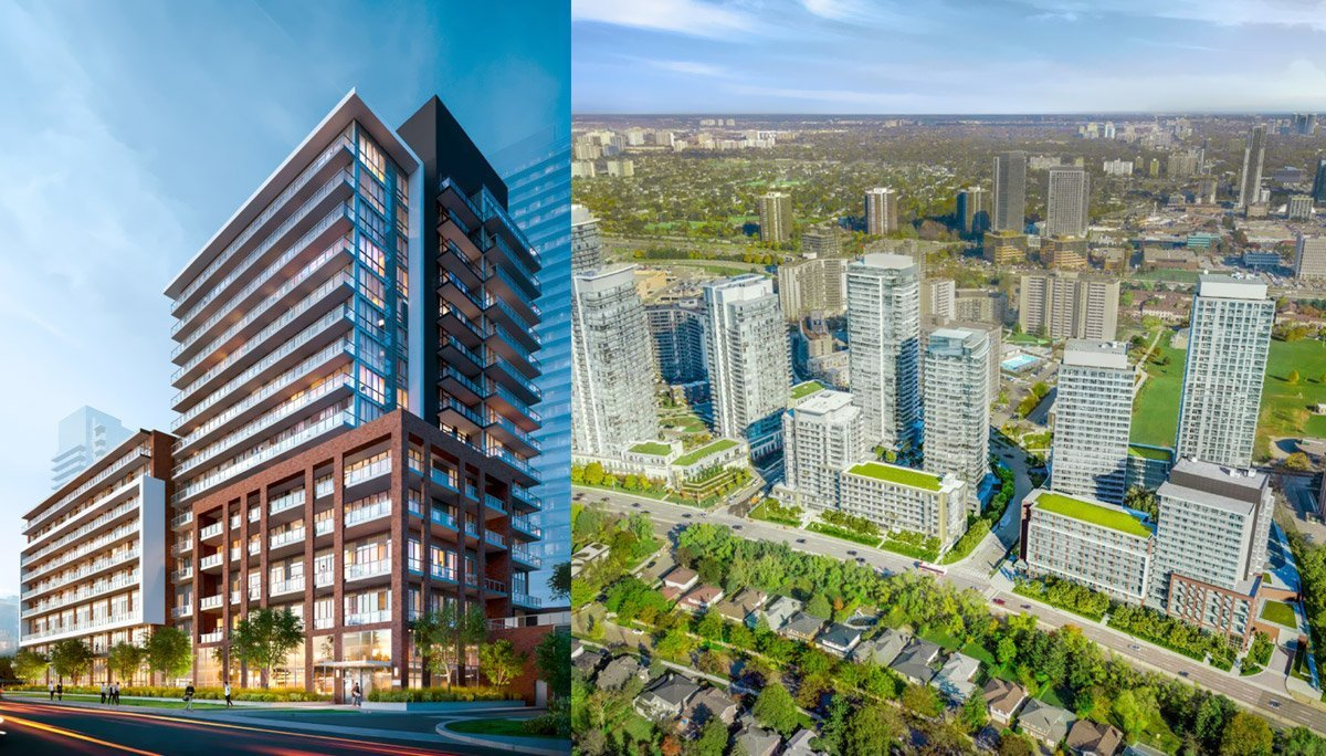 New condo Project at Don Mills Rd & Sheppard Ave E, North York, ON M2J
