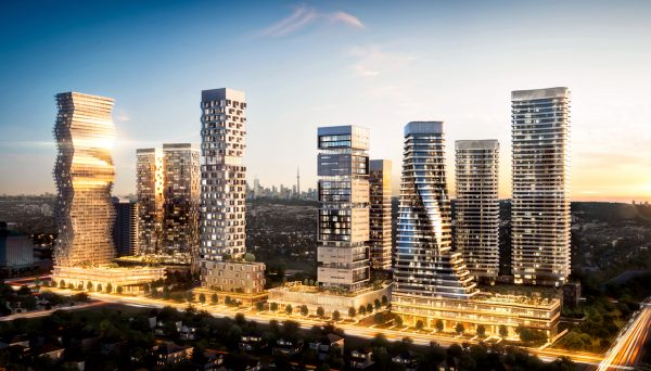 New Condo Project at 3960 Confederation Parkway, Mississauga, ON