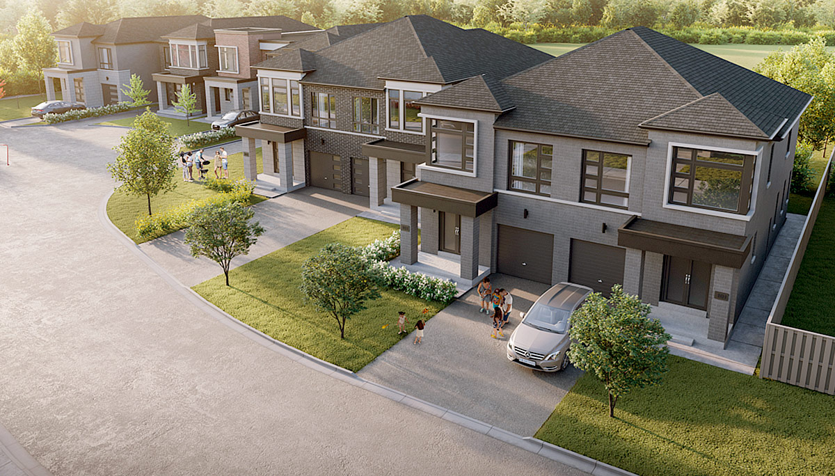 New Townhome Project at 1555 Midland Ave, Scarborough, ON M1P 3C1