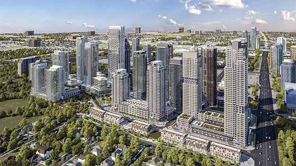 New condominiums in Mississauga