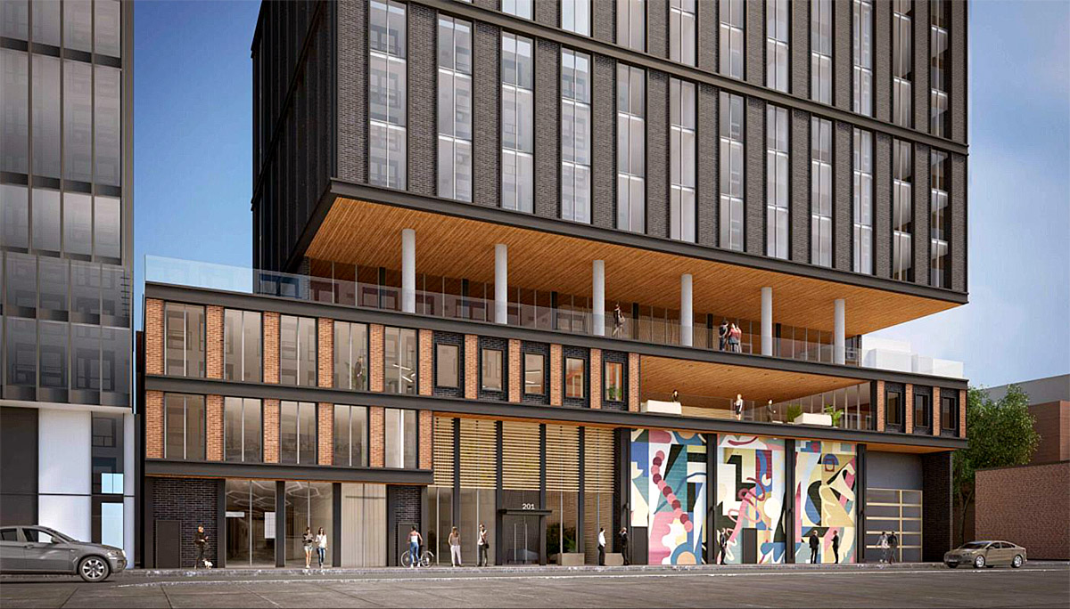 37 storeys Luxury condo with 478 suites