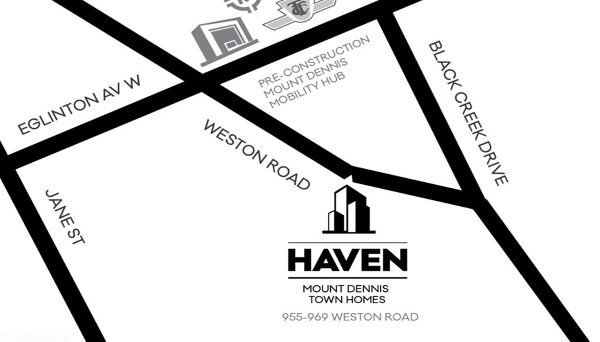New Townhome Project at 955 Weston Road, Toronto, ON M6N 3R4