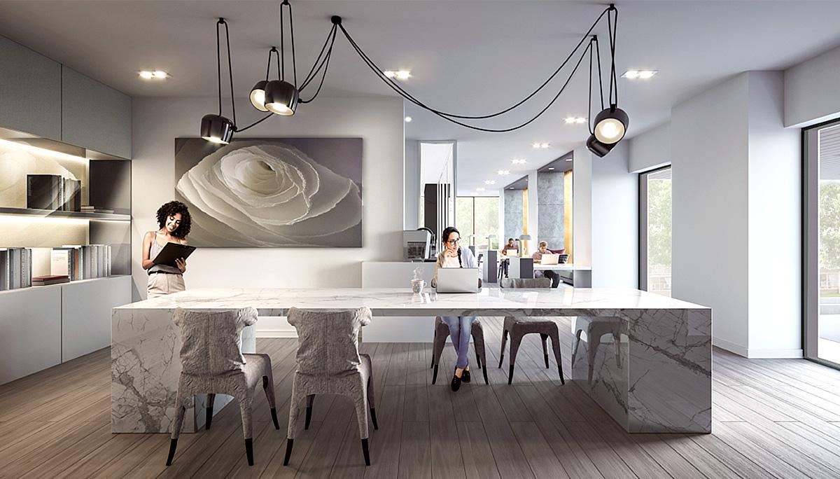 New Condominium in the Toronto neighbourhood of Alexandra Park