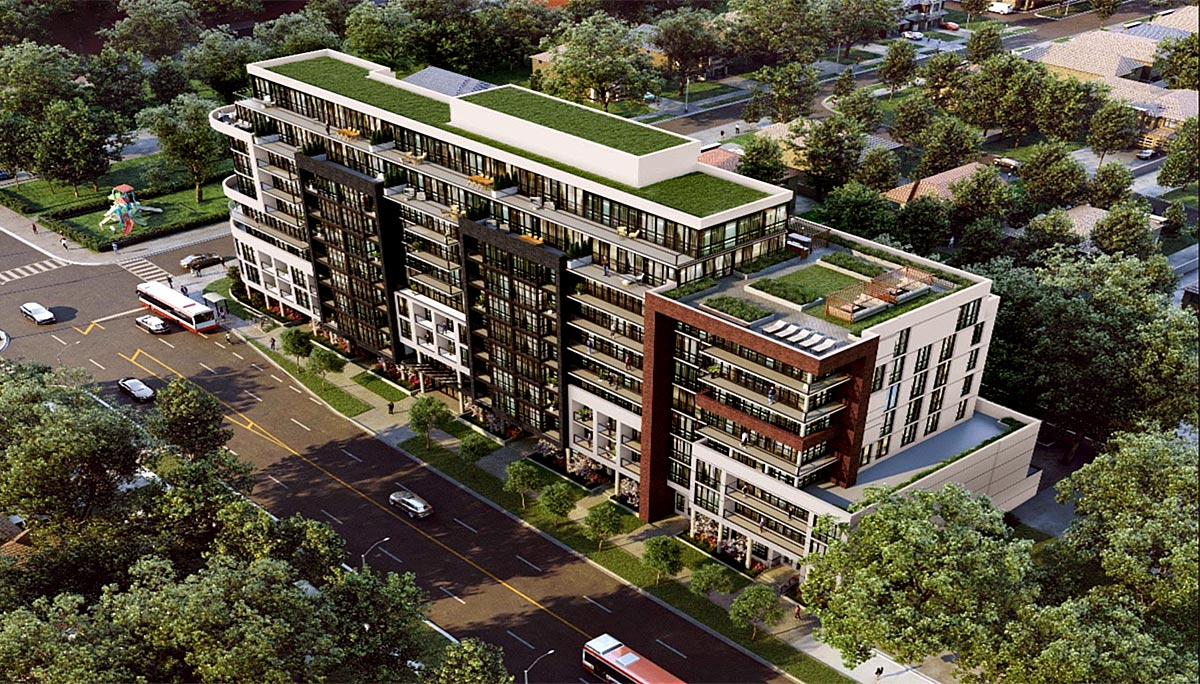 New Condo project at 615 Kennedy Rd, Scarborough, ON M1K 2B2