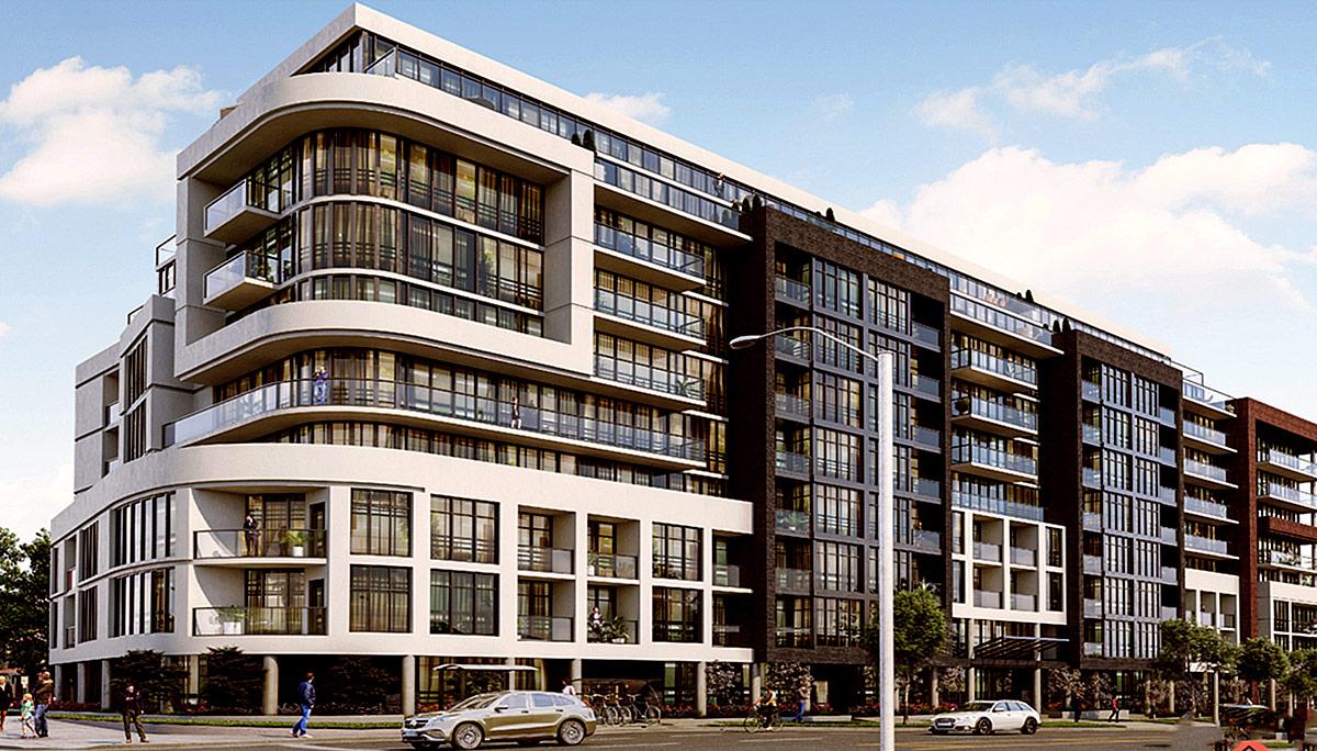 New Modern 10-storey Mid-rise Condominium in Junction Neighbourhood