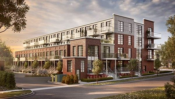 New Townhome Project at 57 Finch Ave W, North York, ON M2N 2H3