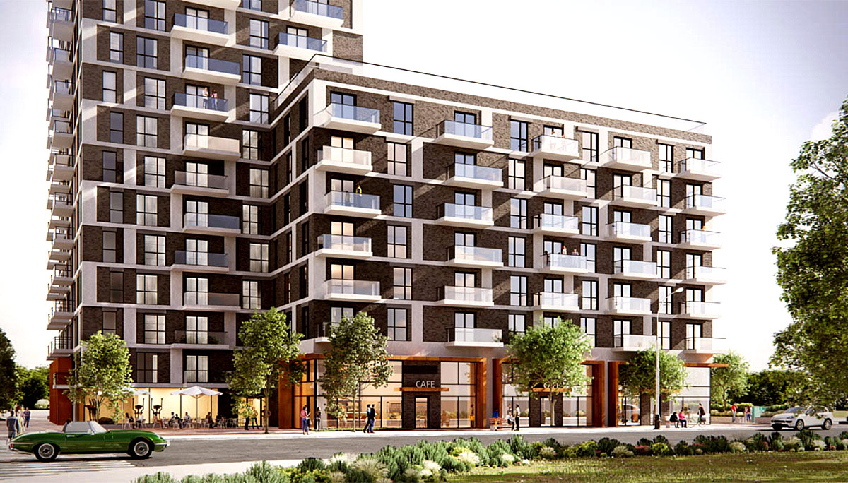 8-Storey Mid-Rise Condominium Development in Oakville