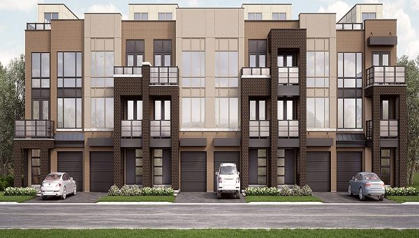 New Townhome Project at Trafalgar Rd & Dundas St E, Oakville, ON