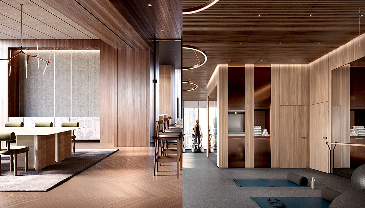 New luxury residence on the northwest corner of Yonge Street and St. Clair Avenue West