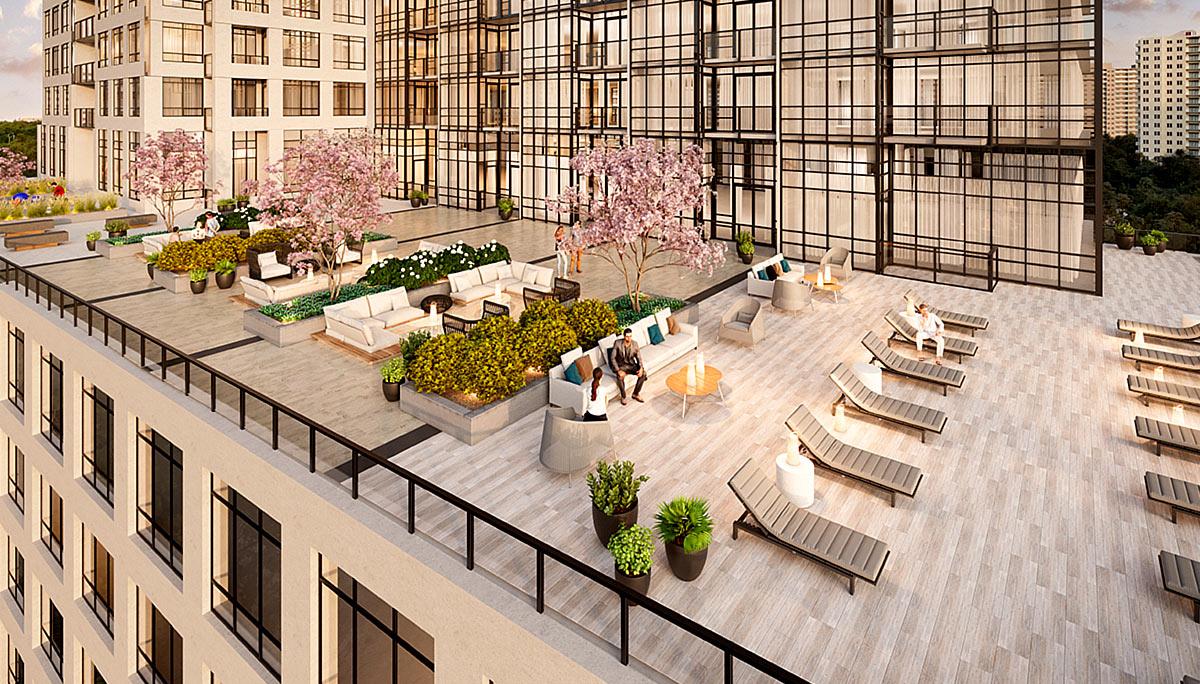 New Condominium Dvelopment at south of Square One in Mississauga