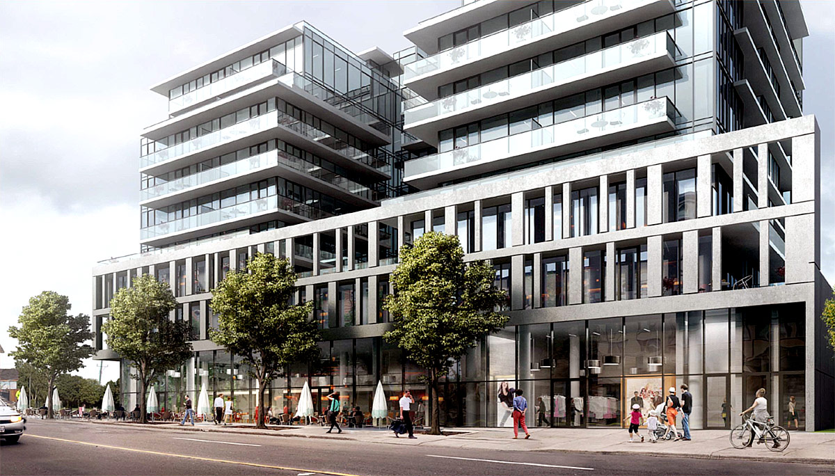 New Condo Project at 500 Dupont St, Toronto, ON, M6G 1Y7