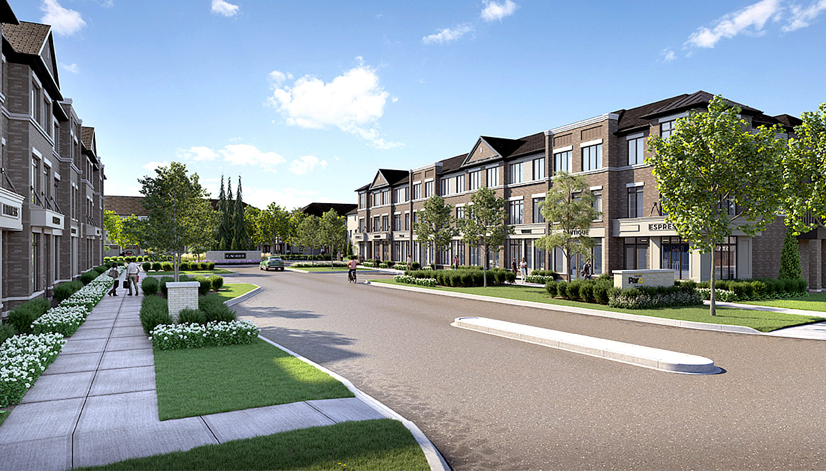 New townhome and condo development at 585 Colborne St E, Brantford, ON N3S 3M7