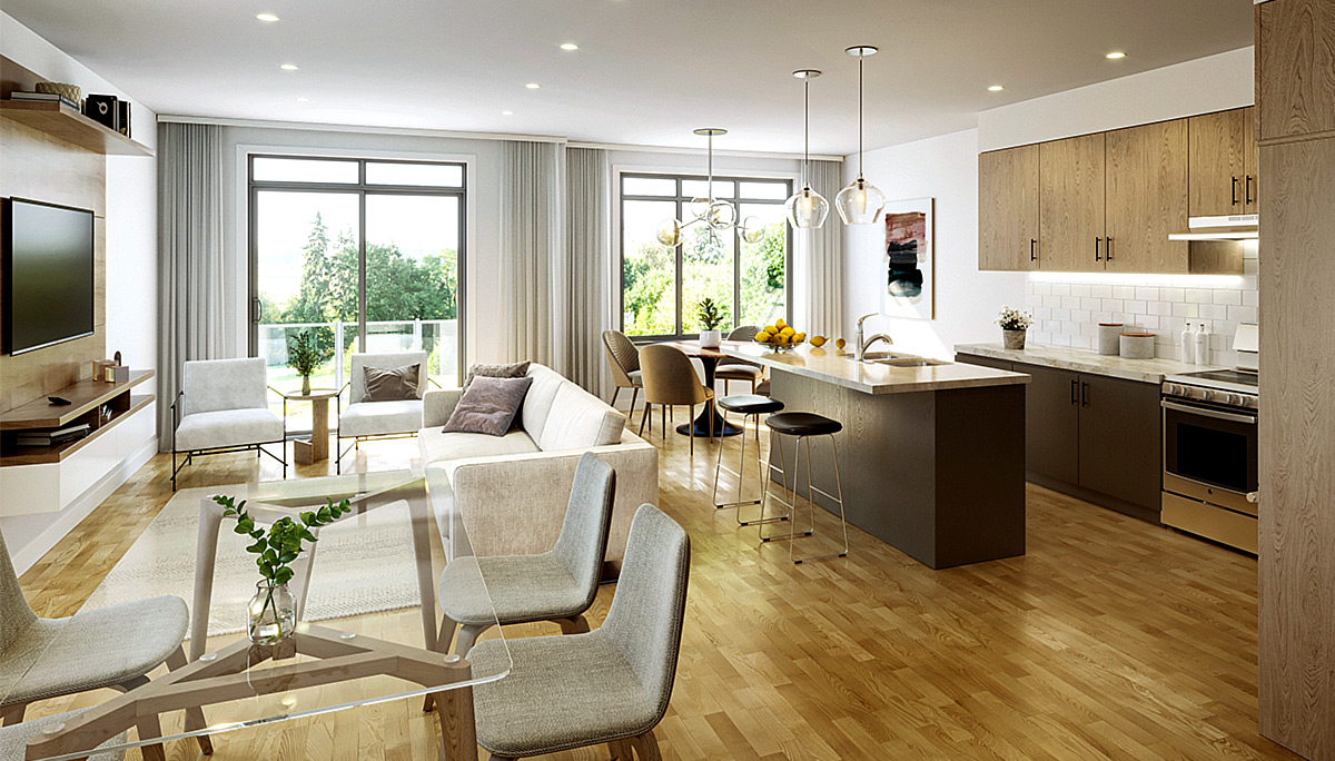 Spacious, open-concept suites, modern amenities and large balconies