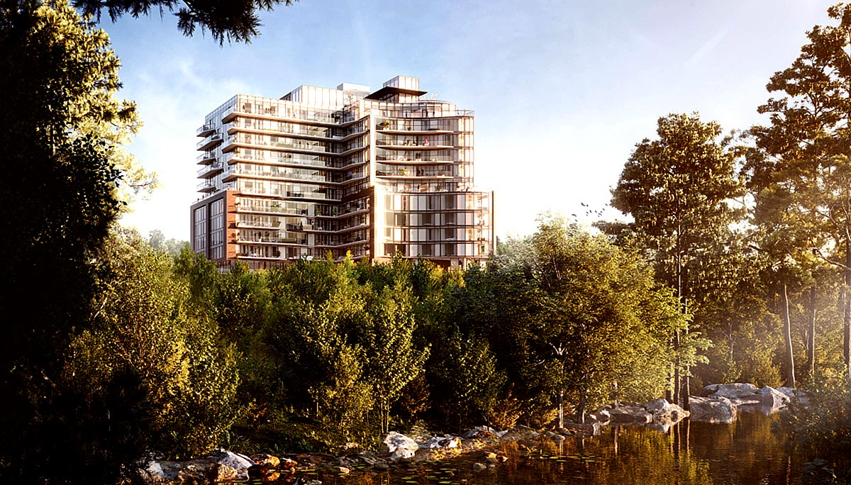 12-storeys high with 168 residential units