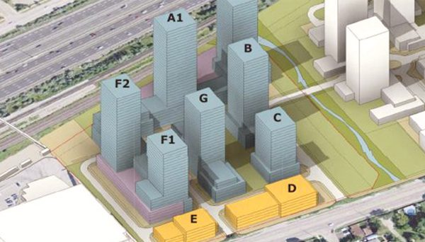 Pickering City Centre South Lands' master-planned community
