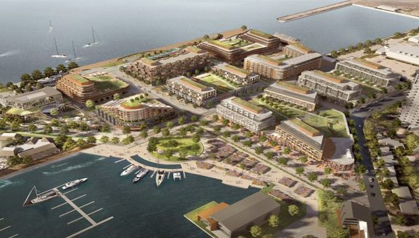 Pier 8 Master-Planned Community