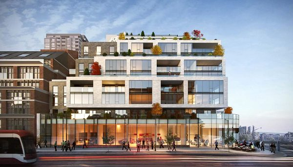 New Condos Near Queen and Dufferin Intersection