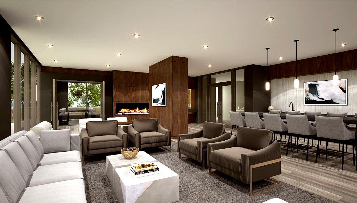 6-storey Modern Condominium with 86 Residential Units