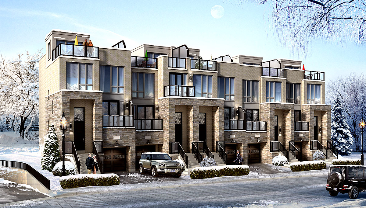 New Townhome Project at 39 Jefferson Side Rd, Richmond Hill, ON L4E 3M4