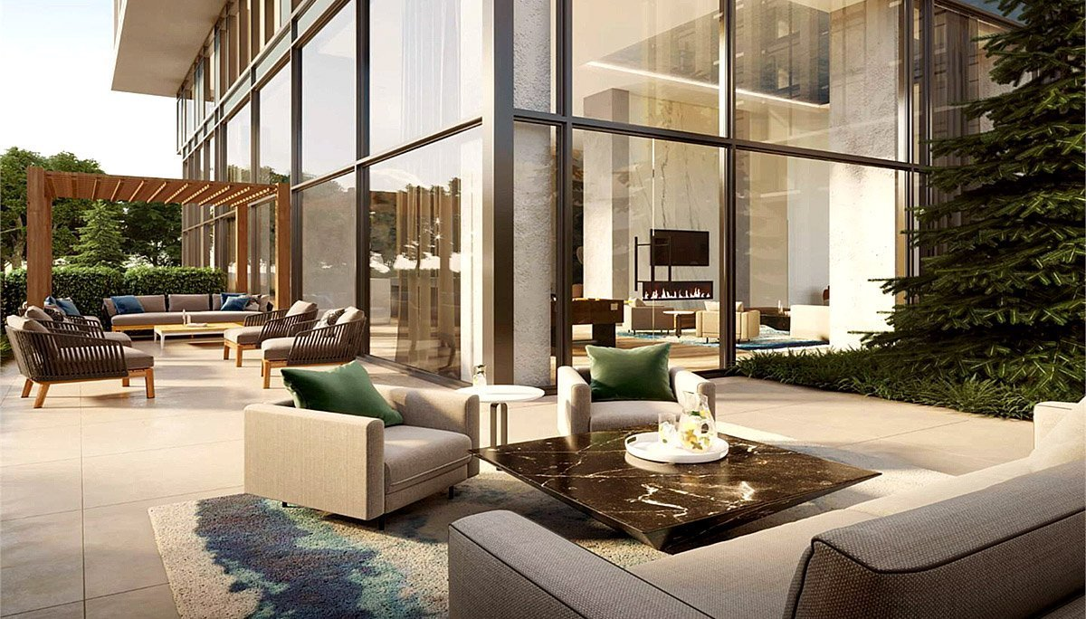 A magnificent new luxury residence in the Mississauga Waterfront
