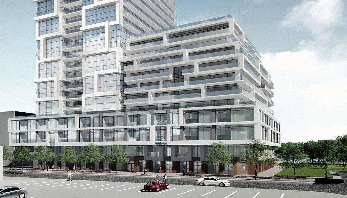 New Condominium Development in Toronto's Regent Park neighbourhood