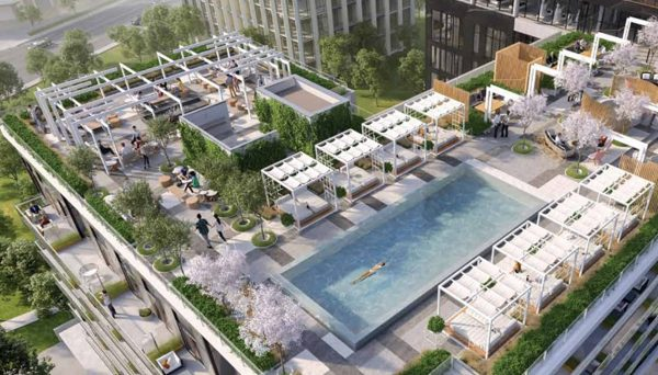 New Condo Project an outdoor infinity pool at 169 The Donway W, North York, ON M3C 4G6