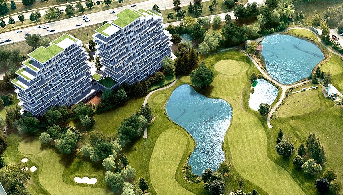 New Condominium Development in Langstaff Neighbourhood.