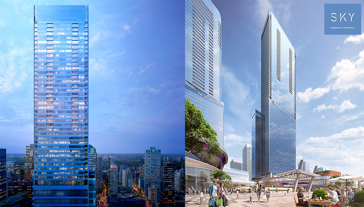SKY Residences at ICE District