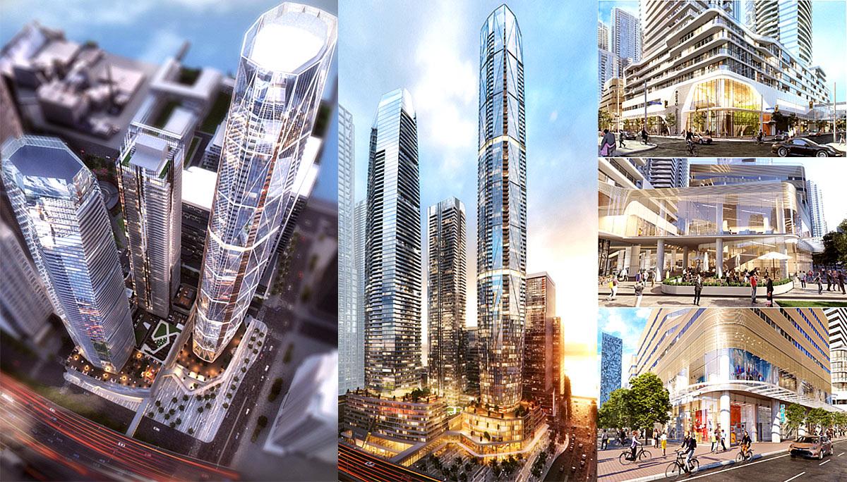 New Condominium Development at 1 Yonge St, Toronto, ON M5E 1W7