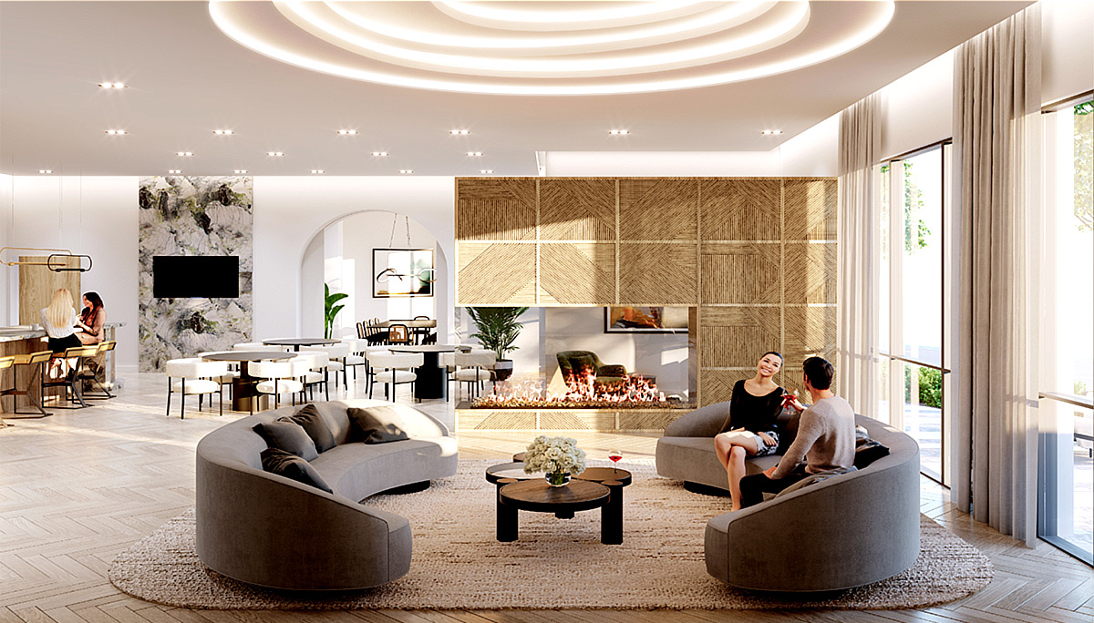 A condominium tower by i2 Developments