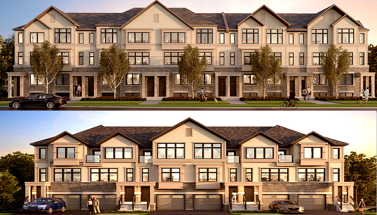 New Townhome Project at 250 Harmony Road South, Oshawa, ON L1G 6L5