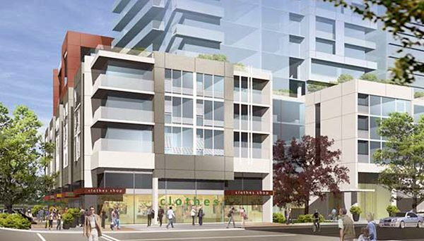 Multi-tower development in the heart of downtown Mississauga