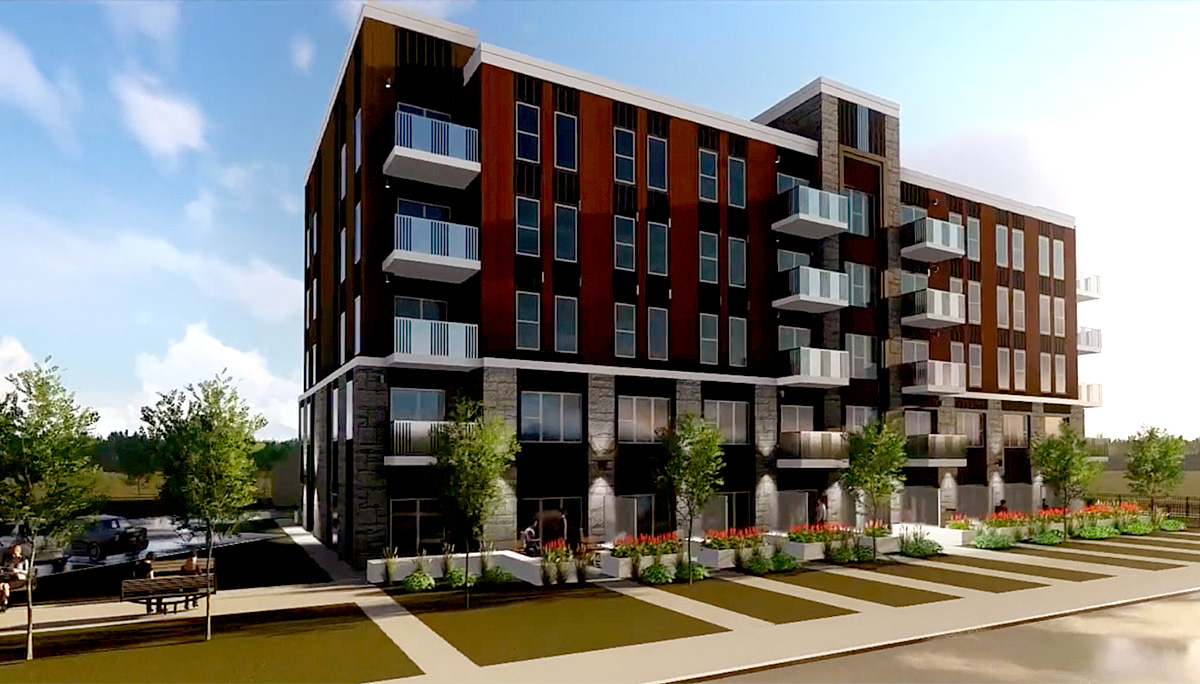 low-rise condominium developmentlow-rise condominium development by Prica Global Enterprises in Hamilton in Hamilton
