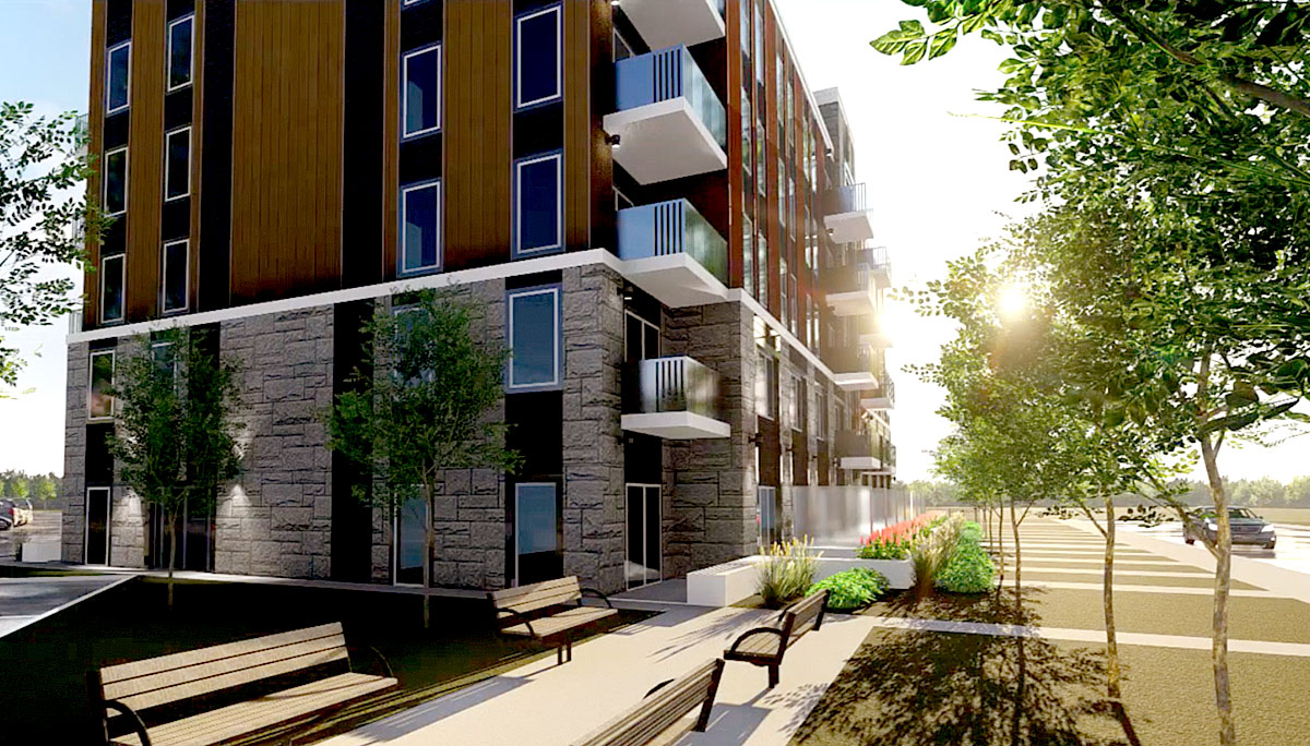 New off-campus student residence in Ainslie Wood East neighbourhood