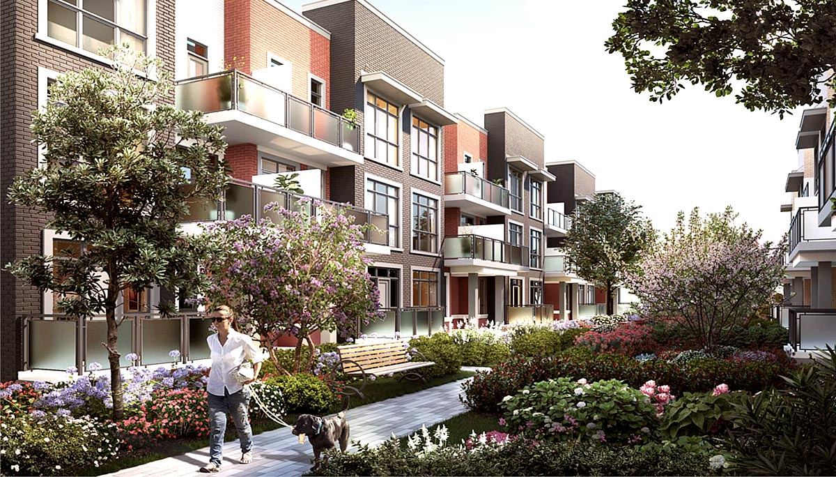 New Townhome Project at Yonge St & Bond Crescent, Richmond Hill, ON L4E 3K2