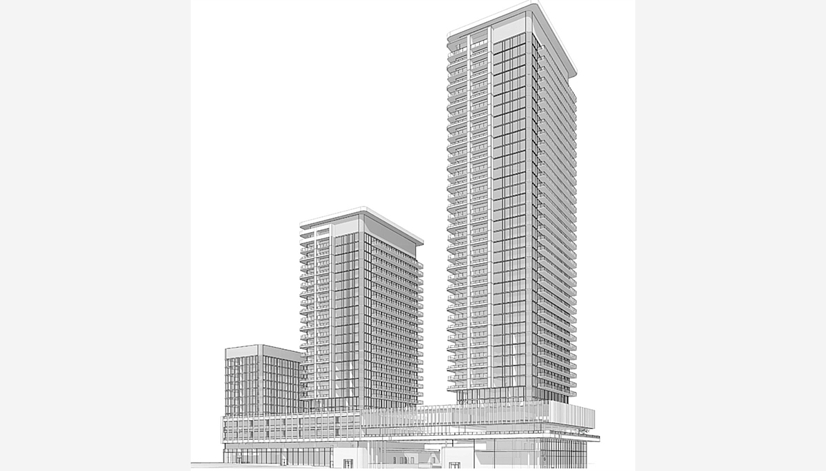 New 39-storey tower is the first phase of the Grand Central Mimico Master-Planned Community
