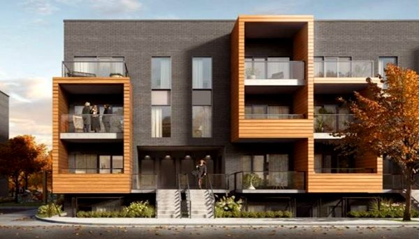 New Townhome Development for Family Life Style