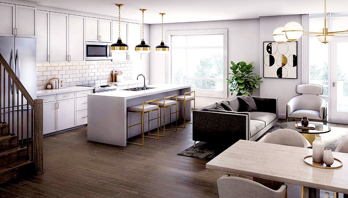 new pre-construction townhome development by Fernbrook Homes