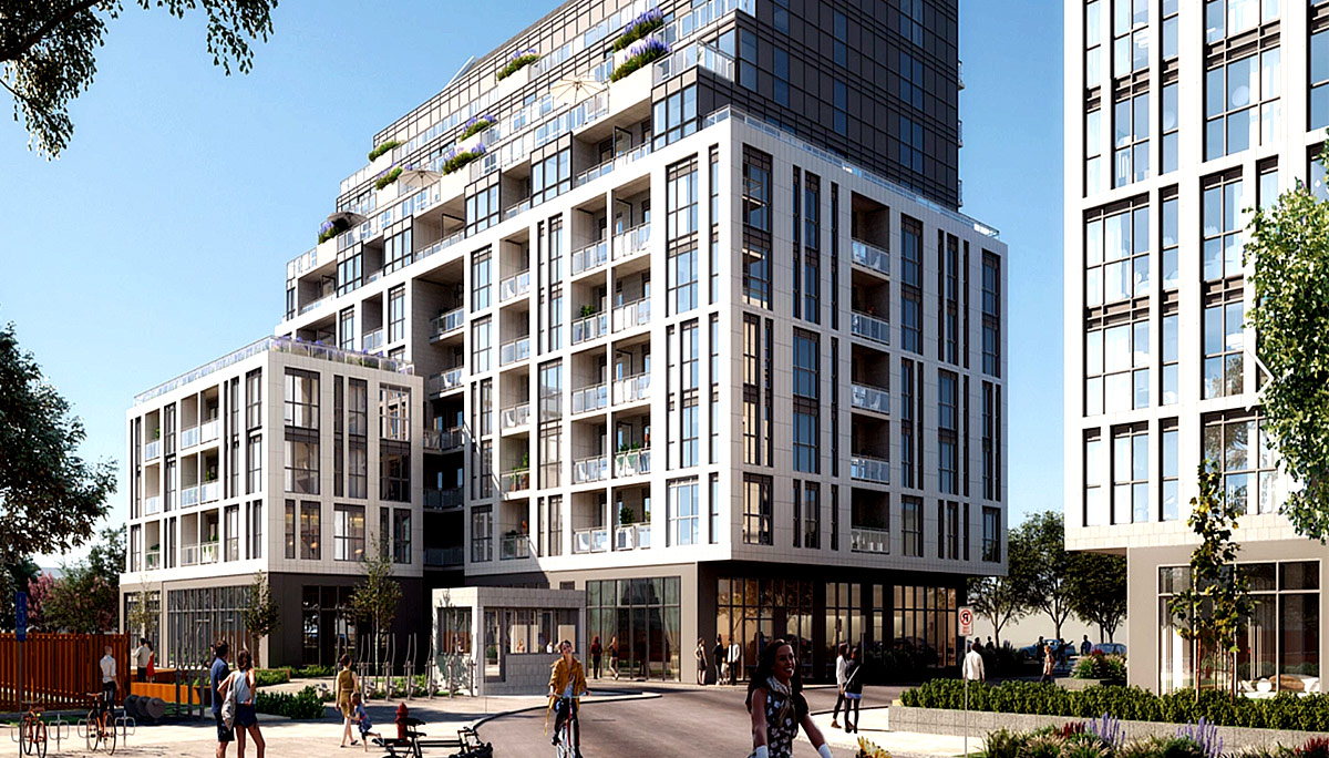 New Condo Project development at 3445 Sheppard Ave E, Scarborough, ON M1T 3K5