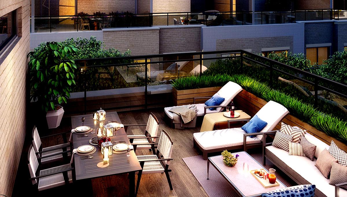 New mixed-use modern Condominiums in Tam O'Shanter - Sullivan neighbourhood