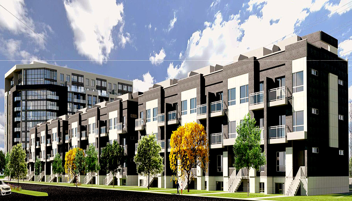 New Condo Project at Dufferin St & Centre St, Thornhill, ON L4J 3N1