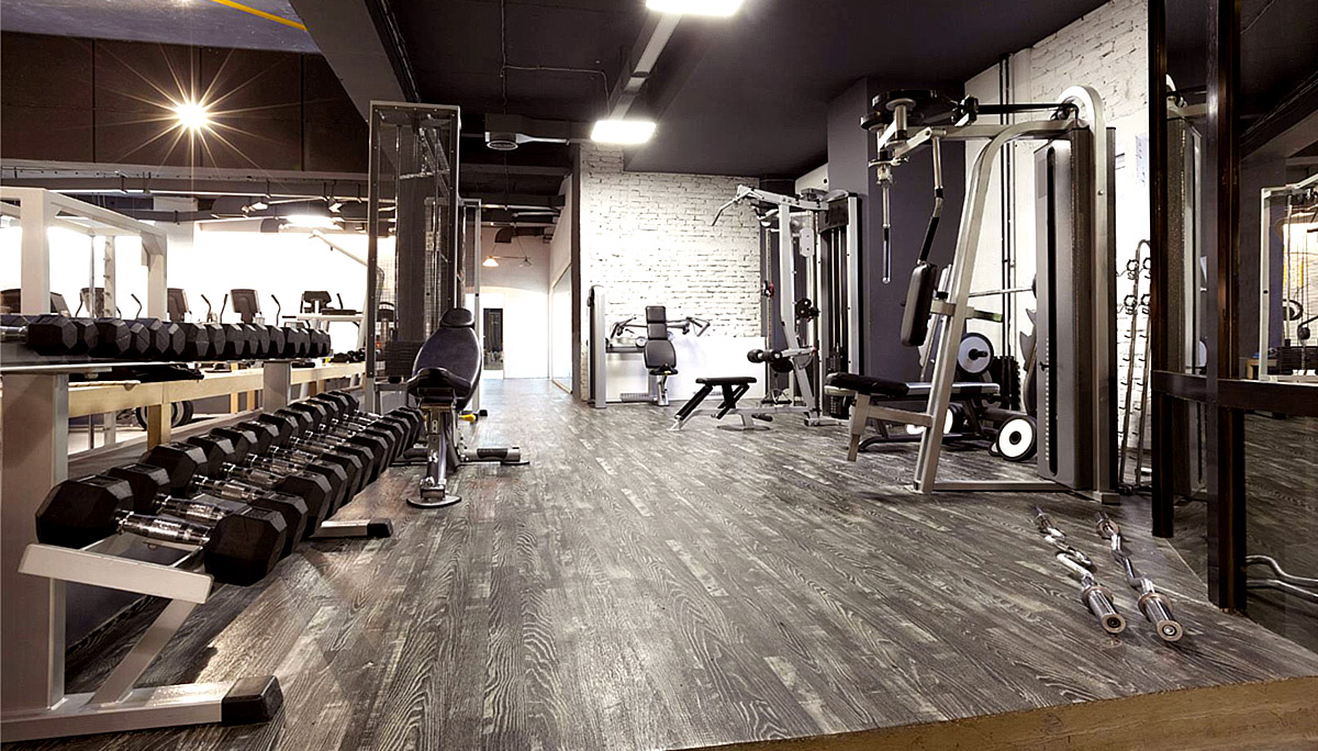 A state-of-the-gym facility and a billiards games room