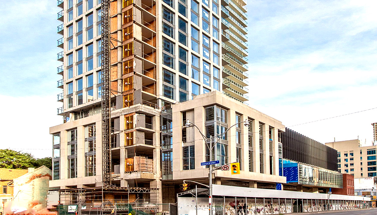 New Condo Project at 595 Yonge St, Toronto, ON M4Y 1Z4