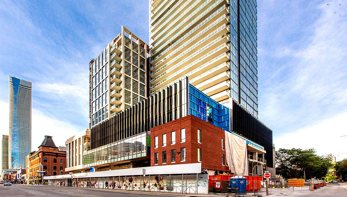 New high-end luxury condominium iin the Church & Wellesley neighbourhood